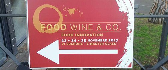 c25f9c7d63 Online il video della VI edizione di Food Wine & Co - Food Innovation!