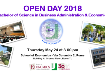 Open Day del CdL in Business Administration & Economics
