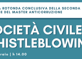 Società Civile e Whistleblowing