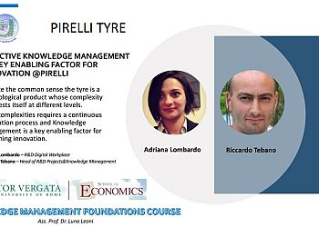 Effective Knowledge Management as Key Enabling Factor For Innovation @Pirelli