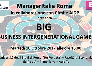 Presentazione del Business Intergenerational Game - BIG