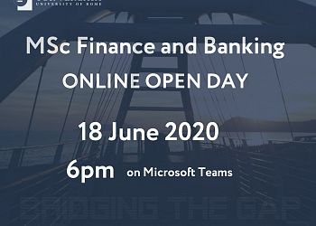 MSc Finance and Banking - Online Open Day