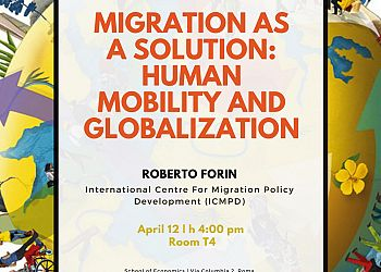 Migration as a solution: human mobility and globalization