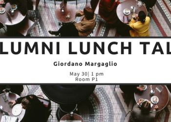 Alumni Lunch Talk with Giordano Margaglio