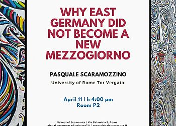 Why East Germany did not become a new Mezzogiorno