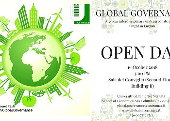 Global Governance Open Day October 16th 2018