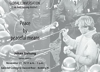 Global Conversation with Johan Galtung (live from Galtung-Institut)