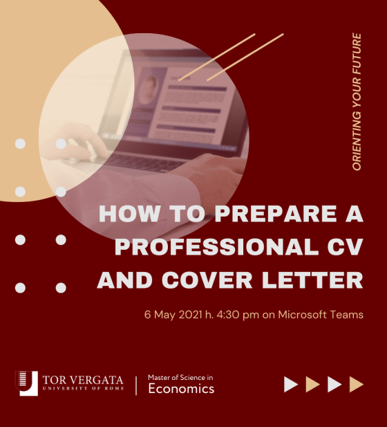 How to write a professional CV and Cover Letter