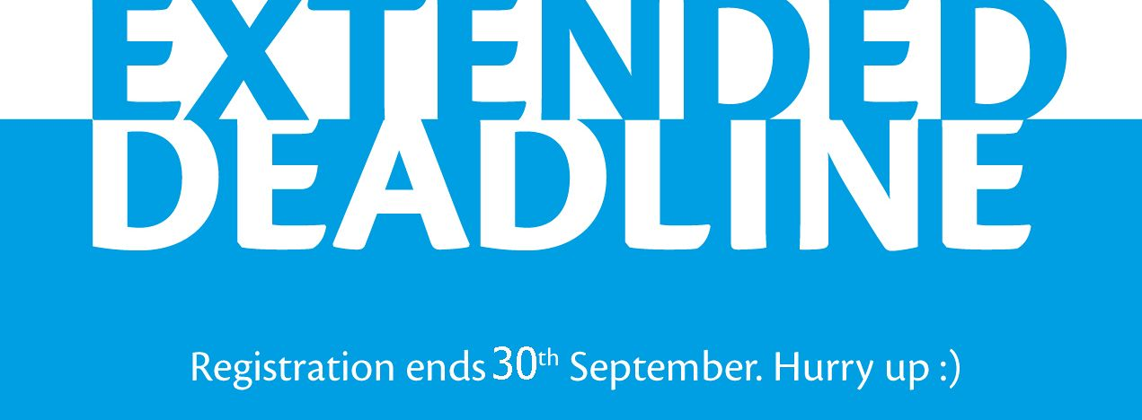 Deadline Extended, Appy Now!