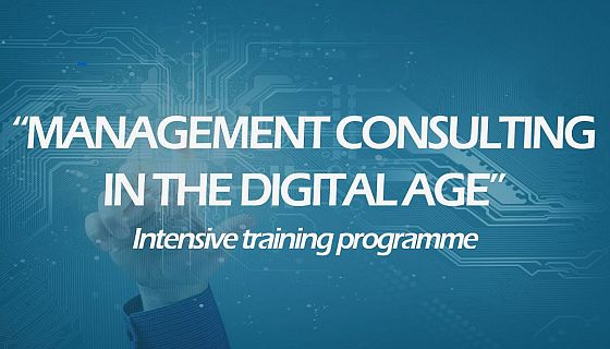 Online summer school - Management Consulting in the Digital Age