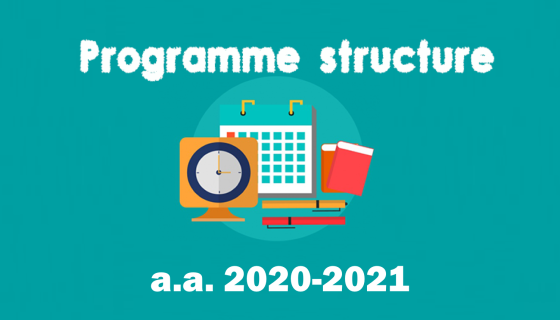 Programme structure for each specialisation