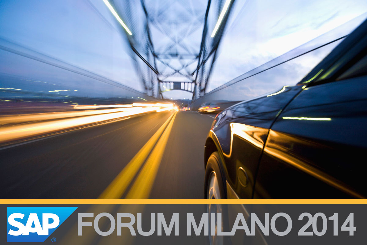 SAP Forum Milan : a journey into the center of innovation